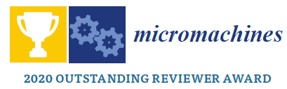 Micromachines Outstanding Reviewer Award